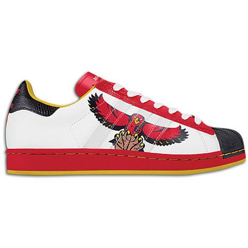 Hawks Adidas Mens Nba Superstar (sz. 19.0, Falchi)
