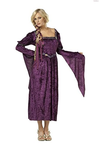 OvedcRay Renaissance Lady Princess Woman Costume Medieval Faire Juliet Dress Shakespeare