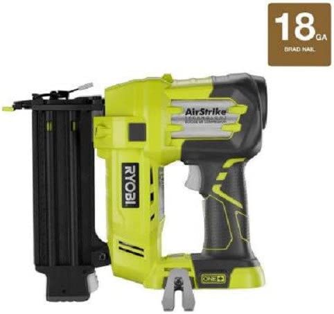 Ryobi ZRP320 ONE Plus 18V Cordless Lithium-Ion 2 in. Brad Nailer Battery and Charger Sold Separately Renewed