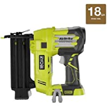 Ryobi ZRP320 ONE Plus 18V Cordless Lithium-Ion 2 in. Brad Nailer Battery and Charger Sold Separately (Renewed)