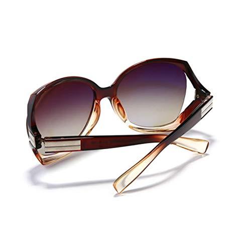 Femme de Sport A Lunettes des Nouvelles boîte Les UV Grande de Couleur Soleil lunettes Des soleil B élégante polarisées l'épreuve des Femmes à Rayons wIqt8xB