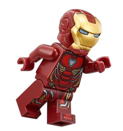 Lego Marvel Super Heroes Avengers Infinity War Minifigure   Iron Man Tony Stark  76108