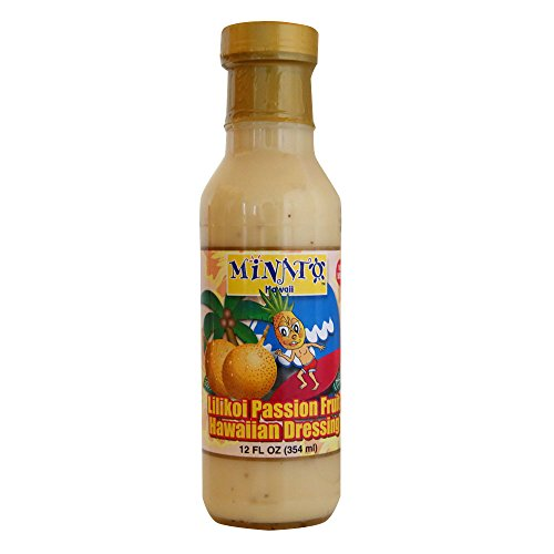 MINATOS Hawaiian Lilikoi Passion Fruit Dressing, 12 OZ