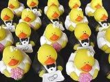 : Mini Ring Bearer And Flower Girl Rubber Duckies