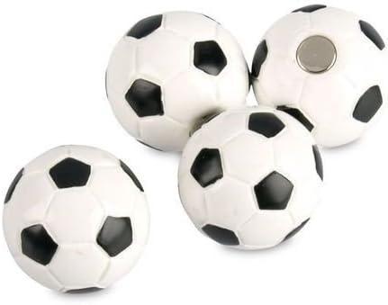 4 x Balón de fútbol - Imanes para nevera, para pizarra - Imanes ...