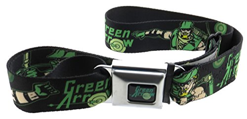 DC+Comics Products : Green Arrow DC Comics Seatbelt Belt Action Poses Targets Green