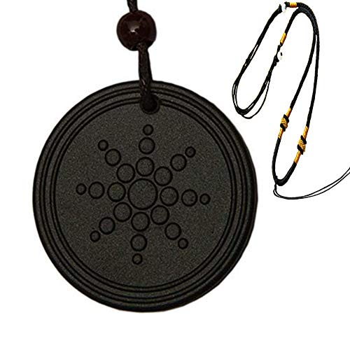ZOOREAnti EMF Radiation Protection Pendant,Scalar Energy,Emf Protection Necklace,Black Tourmaline,Negative Ion Balance Power,Electromagnetic Field Protection & Energy Biofield Treatment Aid from ZOORE