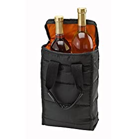 Wine Carrier Tote Bag – Attractive wine bag with thick external padding, zipper and easy to carry handles. The wine tote bag is perfect for travel, picnics or a day at the beach.