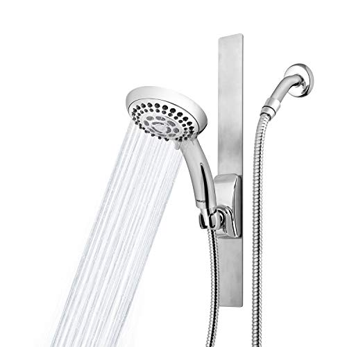 Waterpik Adjustable Height Magnetic Slide Bar Shower Head, Chrome, VSS-563MT