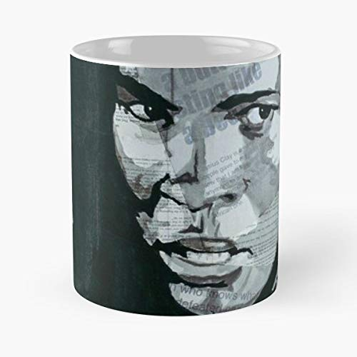(Boxing Boxer Champion Tribute Funny Floral Coffee Mugs Gifts)
