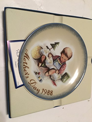 F.X. Schmid Young Reader Collector Plate Mother's Day 1988 ()