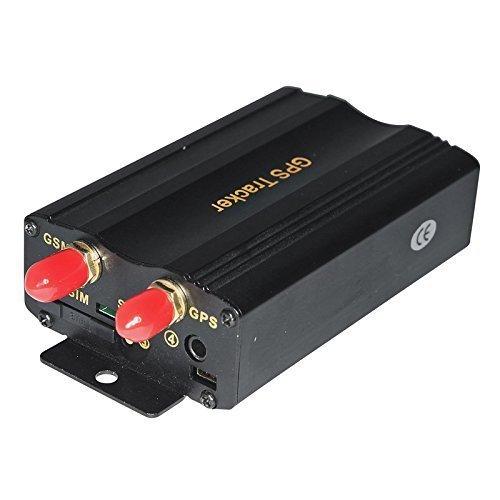 Skytec G204 - Rastreador de GPS para coche (tarjeta SD, SOS ...