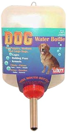 Lixit Dog Water Bottle, 64-Ounce