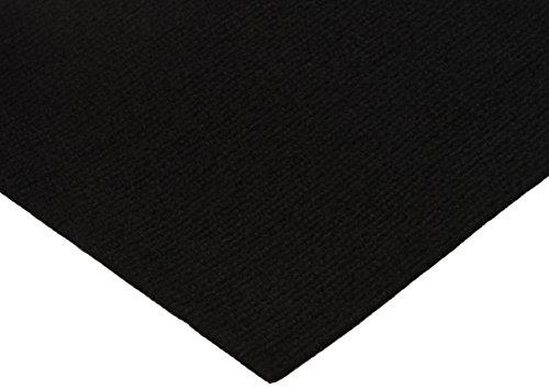 Peel and Stick Carpet Tiles Black 12 Inch 144 Square Feet