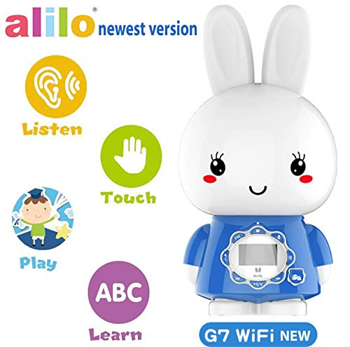 Halloween Story For Kids Pdf (alilo Bunny MP3 Player for Kids with Stories and Songs, Newest Version - Version G7WIFI - WiFi + WeChat + Smart Conversation + Speaker + Voice Recorder + LED Night)