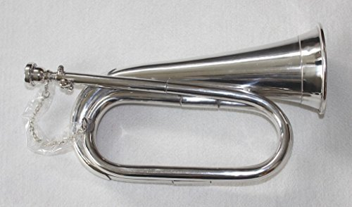 OSWAL Bb Low Pitch Tuneable Army,Military Bugle With Free Hard Case+M/P