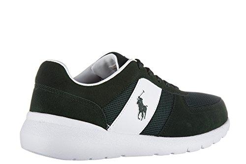 Daim Baskets XZ4Z2 40 EU Chaussures A85 Cordell Ralph Sneakers Polo Homme Lauren en Vert XY4Z2XW4TN pqtxWO0