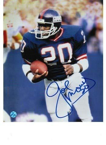 Autographed Joe Morris New York Giants 8x10 Photograph