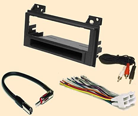 carxtc aftermarket stereo installation kit fits chevy chevrolet s10 pickup 94 97 gmc sonoma (94 97), jimmy (96 97) isuzu hombre (96 97) oldsmobile 1997 Chevy S10 Wiring Diagram