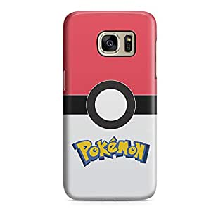Samsung S7 Case Pokemon Case Pokeball Game Fun Durable Light Weight Clear Edges Samsung S7 Cover Wrap Around