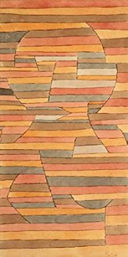 Posterazzi Solitary Poster Print by Paul Klee (10 x 20)