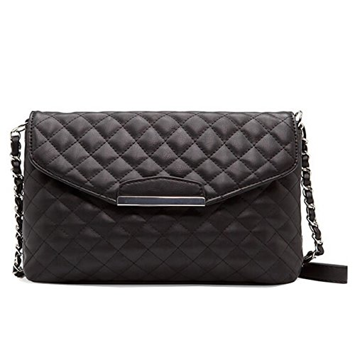 Quilted Envelope Clutch - 9