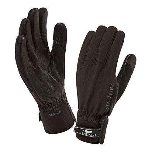 Sealskinz Waterproof All Season Glove, Black/Charcoal, Large