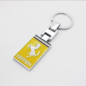 dreamsector Ferrary coche Logo Emblema Llavero 3d aleación ...