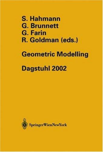 Geometric Modelling: Dagstuhl 2002 Pdf