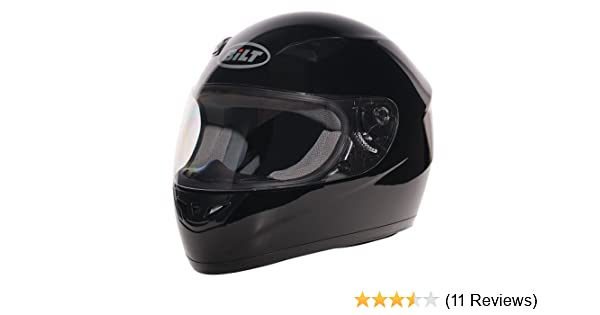 Amazon.com: BILT Fusion Full-Face Motorcycle Helmet - XS, Black: Automotive
