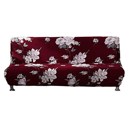 Sundlight Sofa Bed Cover, Armless Futon Cover Stretch Sofa Bed Slipcover Protector Full Folding Furniture Protector for Home,Office,Garden from Sundlight