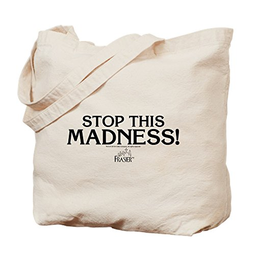 Lona Medium Caqui Cafepress This Stop Frasier Bolsa Madness XwZ8q