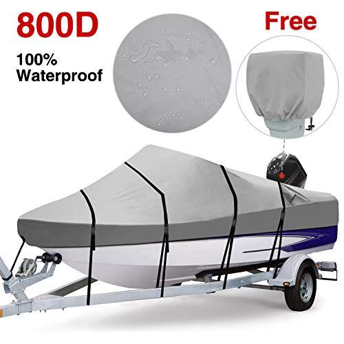 RVMasking Boat Cover Gray (17-19 ft)