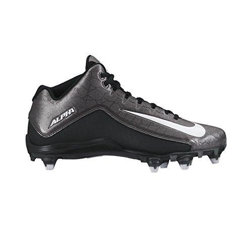 Pictures of New Nike Men's Alpha Strike 2 Variation Black/Metallic Dark Grey 1