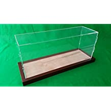 "19"" Table Top Display Case Box for Ocean Liner Cruise Ship Clear Plexiglass Acrylic (19"" x 6"" x 8"")"