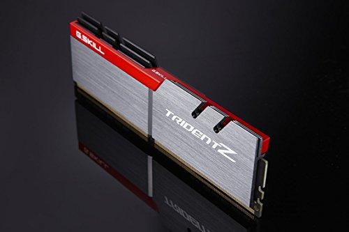 G.SKILL TridentZ Series 32GB (2 x 16GB) 288-Pin DDR4 SDRAM DDR4 3200 (PC4 25600) Intel Z170 Platform Desktop Memory Model F4-3200C16D-32GTZA