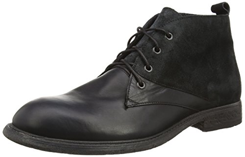 Think! OIDA Boot - botas de cuero hombre negro - negro (SZ/KOMBI 09)