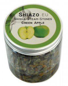 shiazo pierres complexe mineral sans nicotine pomme 100gr