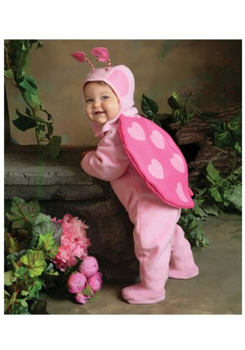 This Guy Costumes Baby Girls' Love Bug, Pink, 0-9 Months (Best Guys Costumes)