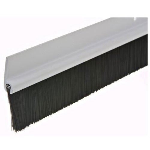Frost King C35PH Plastic Brush Door Sweep, 1-3/4-Inch by 36-Inches, White by Thermwell Prods. Co.