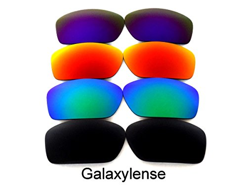 Galaxy Replacement Lenses For Oakley Scalpel Black&Green&Red&Purple 4 - Black Oakleys And Purple