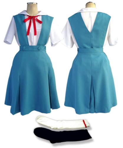Neon Genesis EVANGELION Cosplay Costume Medium Size by uniform