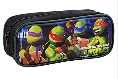 Teenage Mutant Ninja Turtles Cloth Pencil Case Pencil Box - Black