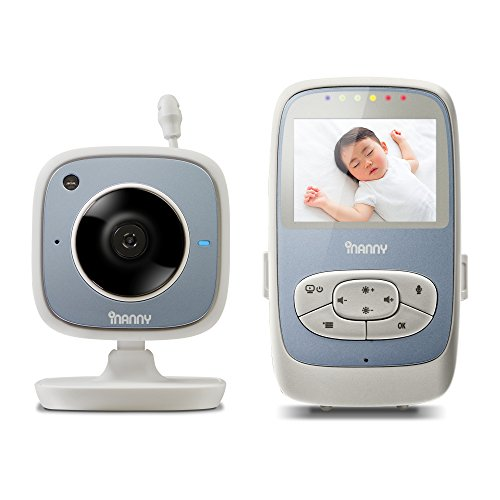 iNanny NM288 Digital Video Baby Monitor with 2.4-Inch LCD Display and Wi-Fi Viewing
