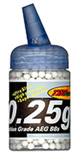 - TSD Tactical 1,000 ct. Feeder Bottle Plastic White Airsoft BBs (6mm, 0.25g)