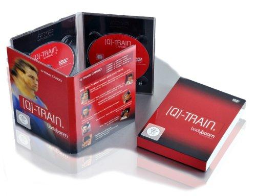 bodyboom Q-TRAIN. Cardio - 4 x 50 Minuten Fitness auf DVD
