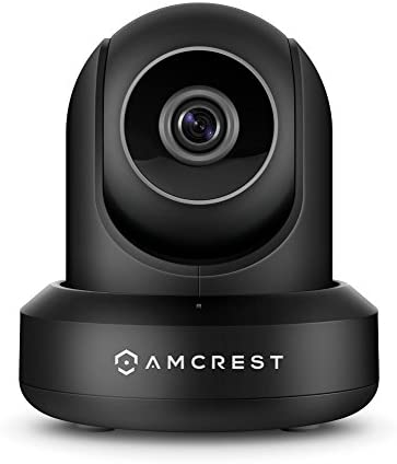 Amcrest Wireless IP Video Security System NV1104 1080p NVR 4CH 720p 1080p and 4 x 2MP 1080P Amcrest ProHD WiFi Pan Tilt IP Cameras IP2M-841 Black
