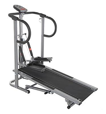 Conquer 2-in-1 Treadmill Stair Climber Cardio Stepper