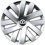 Volkswagen VW Pieza de Repuesto Original Set de Tapacubos VW Polo 15 Pulgadas (6R)