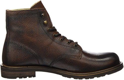 Shoe The Bear Herren Worker Kurzschaft Stiefel Braun (Brown)